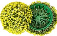 Искусственное растение Green Fly Самшит полусфера Мимоза / СП-15-29 -