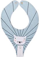 Нагрудник детский Happy Baby С креплением для пустышки / 16013 (мышь) -