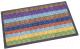 Коврик грязезащитный Shahintex Lux Multicolor 40x60 (радуга) -