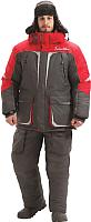 Костюм рыбацкий Nova Tour Буран V3 / 95845-052-XL (серый/красный) -