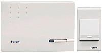 Электрический звонок Feron F-128E (DB412) / 23604 (белый) -
