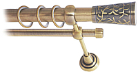 Карниз для штор Lm Decor Византия 066 2р гладкий 25/16мм (антик, 2м) -