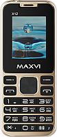 Мобильный телефон Maxvi X12 (Metallic gold) -