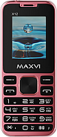 Мобильный телефон Maxvi X12 (Rose gold) -