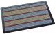Коврик грязезащитный Shahintex Lux Multicolor 40x60 (серый) -