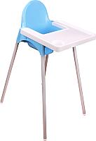 Стульчик для кормления Альтернатива М6249 (голубой) -