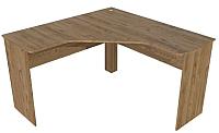 Письменный стол SV-мебель Гарвард угловой (гикори темный) -