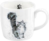 Кружка Portmeirion Wrendale Designs Пушистый кот / MMMU5629-XT 1 (310мл) -