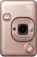 Фотоаппарат с мгновенной печатью Fujifilm Instax Mini LiPlay (Blush Gold) -