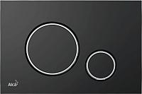 Кнопка для инсталляции Alcaplast M778 (черный матовый) -