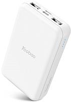 Портативное зарядное устройство Yoobao Power Bank P10W (белый) -
