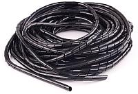 Лента монтажная спиральная КС ЛСМ-08 / 93205 (10м, черный) -
