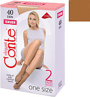 Носки Conte Elegant Tension 40 (р.23-25, bronz, 2 пары) -