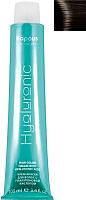 Крем-краска для волос Kapous Hyaluronic Acid с гиалуроновой кислотой 4.0 (коричневый) -