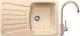 Мойка кухонная Blanco Nova 45S + смеситель Mida / 513909M2 (шампань) -