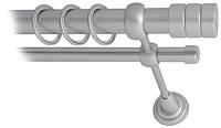 Карниз для штор Lm Decor Цилиндр 088 2р гладкий 25/16мм (сатин, 2.4м) -