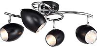 Люстра J-light Klumi 1269/4C (черный/хром/черный) -