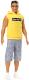 Кукла Barbie Кен в серых штанах и желтой футболке / DWK44/GDV14 -