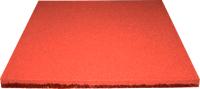 Резиновая плитка Ecoslab 500x500x16 (красный) -