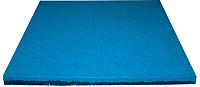 Резиновая плитка Ecoslab 500x500x16 (синий) -