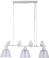 Потолочный светильник J-light Selina 1188/3P (белый/серебристый/прозрачный) -