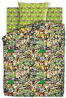 Комплект постельного белья Непоседа Emoji. Футбол / 481841 -