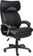 Кресло офисное Tetchair Duke кожзам (черный/серый) -