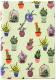 Обложка для автодокументов Vokladki Кактусы / 12020 -