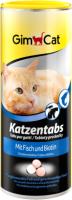 Витамины для животных GimCat Tabs Fish / 408286 (210г) -