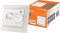 Терморегулятор для теплого пола TDM Таймыр SQ1814-0031 (белый) -