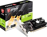 Видеокарта MSI GT 1030 2GD4 LP OC -