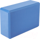 Блок для йоги Sundays Fitness IR97416 (голубой) -