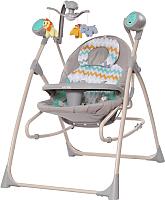 Качели для новорожденных Carrello Nanny CRL-0005 (grey wave) -