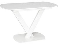 Обеденный стол Listvig Реал 120-152x70 (кремовый) -