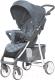 Детская прогулочная коляска Carrello Quattro CRL-8502/2 (Metal Gray) -