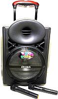 Портативная акустика OM&S 12 MR-103ch (черный) -