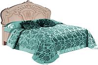 Двуспальная кровать Мебель-КМК Розалия 0456.1-01 (дуб молочный) -