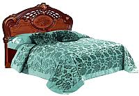 Двуспальная кровать Мебель-КМК Розалия 0456.1-01 (орех экко) -