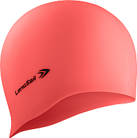 Шапочка для плавания LongSail Силикон (коралловый) -