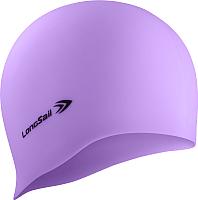 Шапочка для плавания LongSail Силикон (светло-сиреневый) -