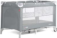 Кровать-манеж Carrello Piccolo Plus CRL-9201/2 (ash grey) -