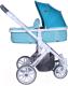 Детская универсальная коляска Lorelli Luna Aquamarine 2 в 1 / 1002080174 -