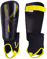 Щитки футбольные Jogel JA-207 (L, черный/желтый) -