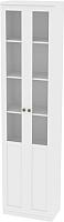 Шкаф с витриной Заречье Луиза ЛЗ-2 (дуб седан) -