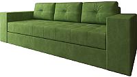 Диван Настоящая мебель Константин вельвет (зеленый) -