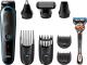 Машинка для стрижки волос Braun MGK5080 с бритвой Fusion 5 ProGlide + 2 кассеты -