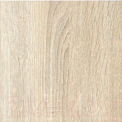 Тумба Мебель-КМК Хилтон 2Я 0651.2 (дуб санома/белый глянец) - дуб санома