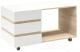 Журнальный столик Мебель-КМК Хилтон 0651.25 (дуб санома/белый глянец) -