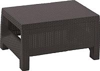 Кофейный столик садовый Keter Corfu Table / 207786 (коричневый) -