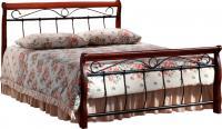 Двуспальная кровать Signal Venecja 2OS.160x200 (античная черешня) -